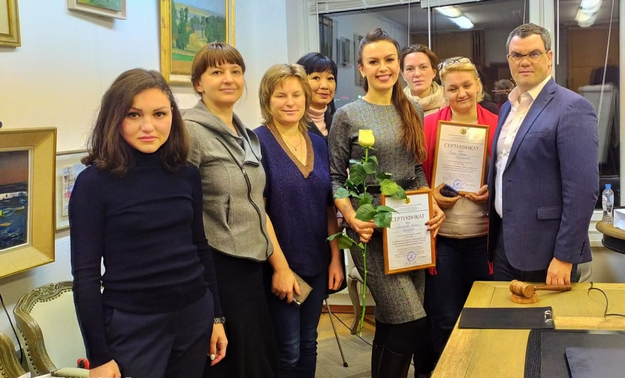 Кравцов Алексей с группой слушателей семинара